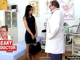 Racist Doctor Examines A Big Nigga Dick