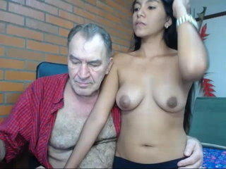 grandfather romul before webcam female defloration