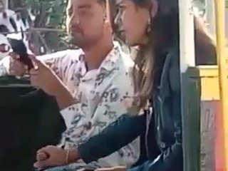 Handsome india nubile hj in public