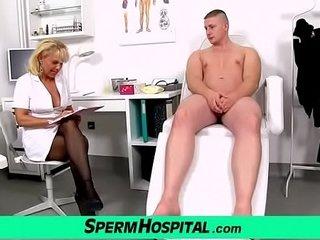 Therapist patient role have fun with torrid female Koko Margit