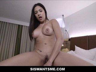 Latina Teen Stepsister Big Arse Big Soul Serena Santos Backstage Sex Roughly Stepbrother POV