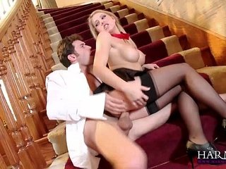 HARMONY Mirage Young Bimbo bringing about chum around with annoy bean James Deen