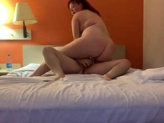 Angel gets fucked by stranger give guest-house breadth
