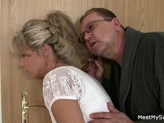 He leaves and scalding parents seduces his hot GF